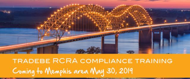 Tradebe Compliance RCRA Training in Memphis 2019