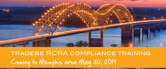 Tradebe Compliance RCRA Training in Memphis 2019