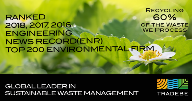 Tradebe Ranks High on ENR's List of Top 200 Environmental Firms