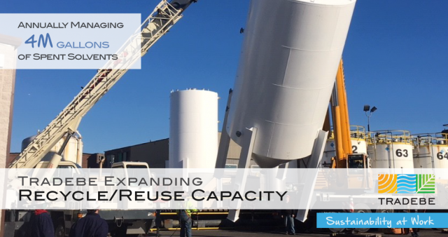 Tradebe Expands Recycle/Reuse Capacity in the US