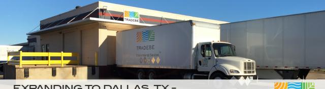 Tradebe Facility Network Growing - Dallas, TX Now Open!